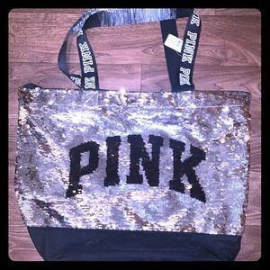 NWTs Victoria's Secret PINK bling tote